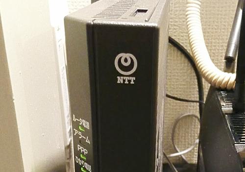 NTTのモデム